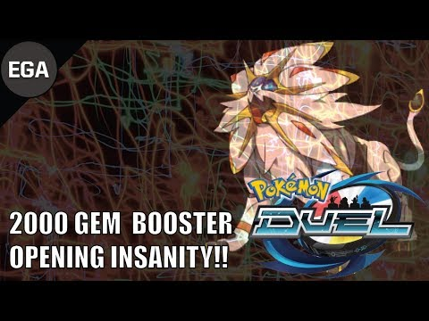 2000 GEM BOOSTER OPENING INSANITY!! | Pokemon Duel Is Amazing