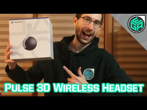 PS5 Pulse 3D Wireless Headset - Unboxing and First Impressions