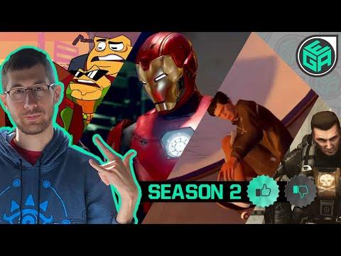 Every Games Amazing - Season 2 (Battletoads | Marvel Avengers | Tony Hawk | Halo 3 ODST)