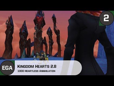 1000 Heartless Annihilation (Ultimate Battle)   Kingdom Hearts 2 Gameplay
