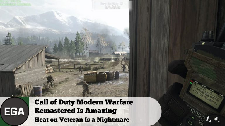 Call Of Duty MW Remastered Is Amazing | Heat on Veteran Is a Nightmare