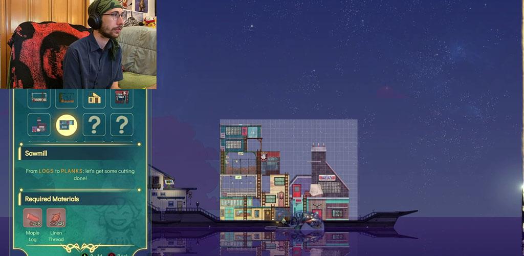 Building on the Boat in SpiritFarer