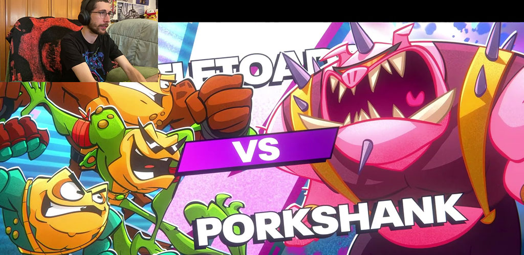 Porkshank Vs the Battletoads