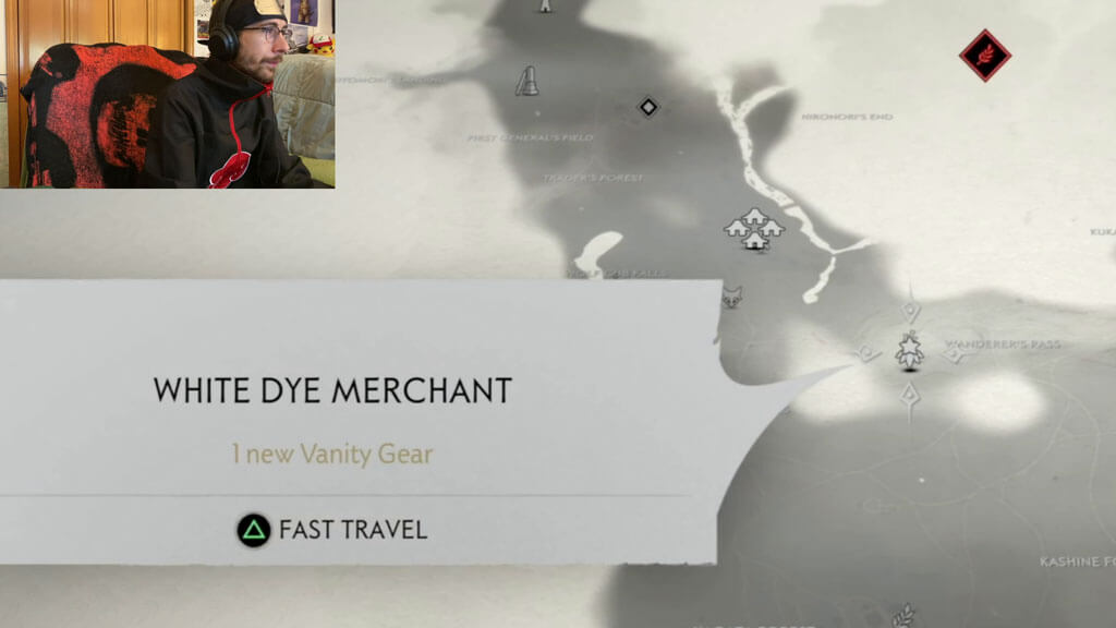 White Dye Merchant Location on the World Map