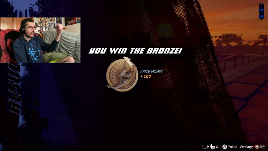 Getting a Bronze in a Heat Challenge