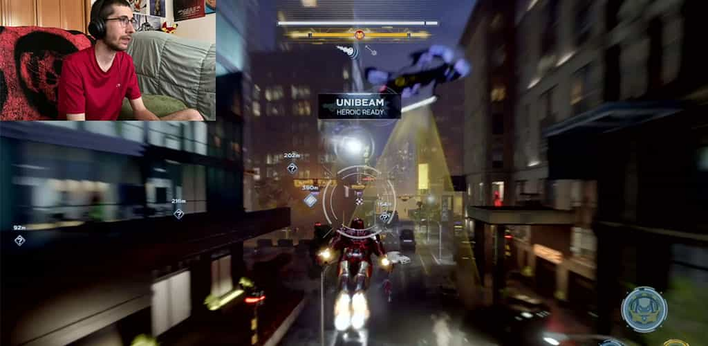 Iron Man Gameplay Icons
