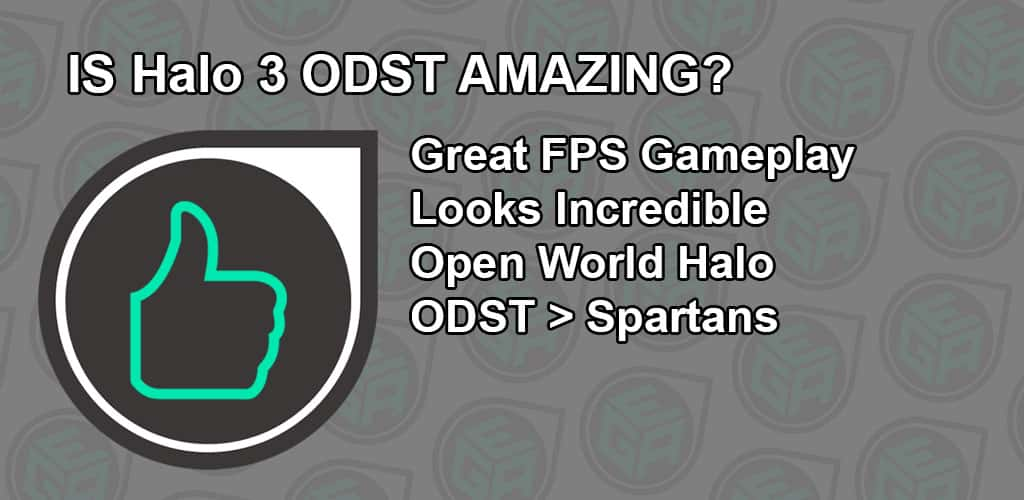 Is Halo 3 ODST Amazing