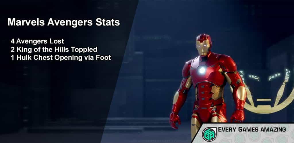 Marvels Avengers Gameplay Statistics