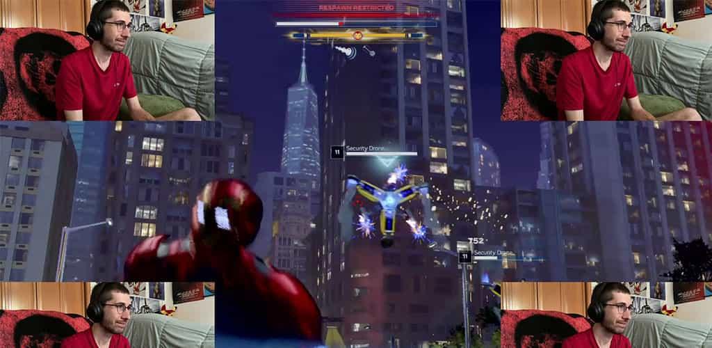 Multiple Hunter Armadas Playing Marvel's Avengers