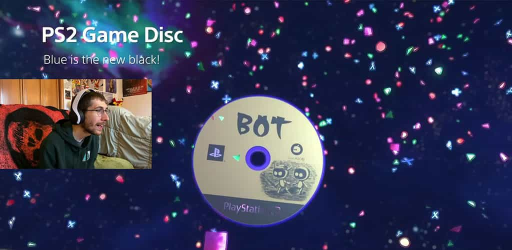 ICO PS2 Game Disk in Astros Playroom