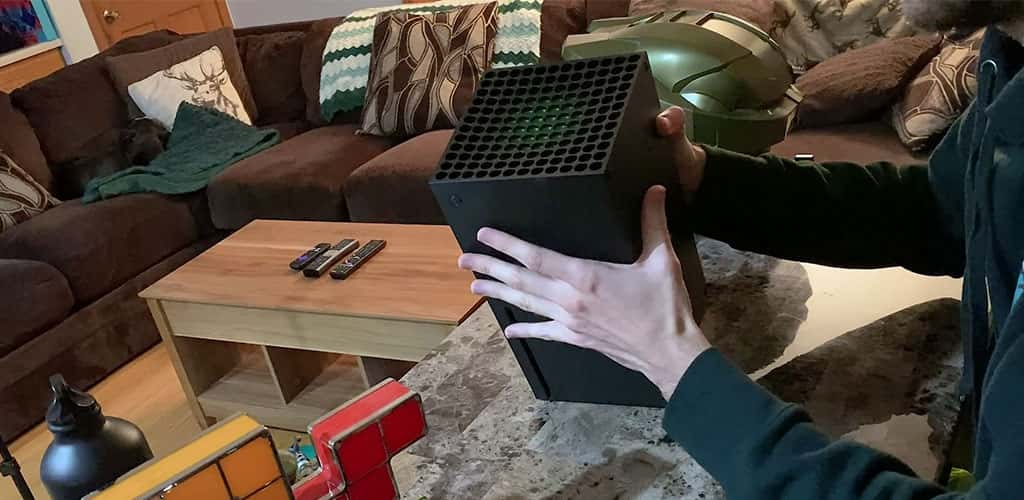 Xbox Series X Green Vents