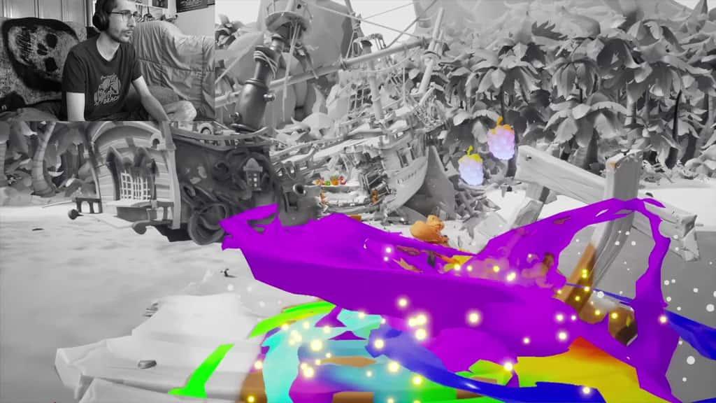 Crash 4 Painting N Verted
