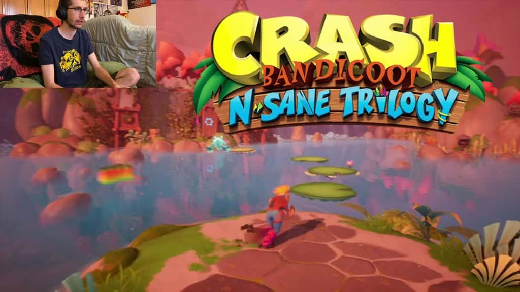 Crash Bandicoot N-Sane Trilogy Logo in Crash 4