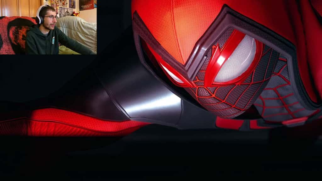 Crimson Cowl Suit in Spider-Man Miles Morales
