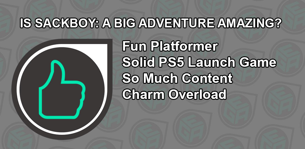 Is Sackboy A Big Adventure Amazing