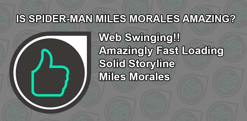 Is Spider-Man Miles Morales Amazing
