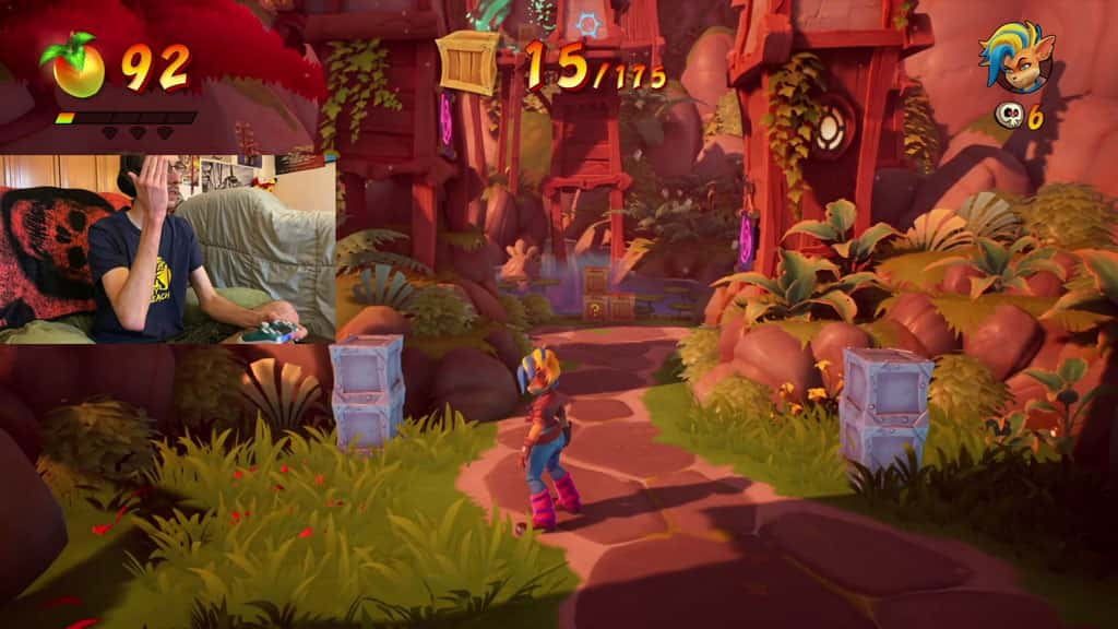 Lives Crates and Wumpa Fruit