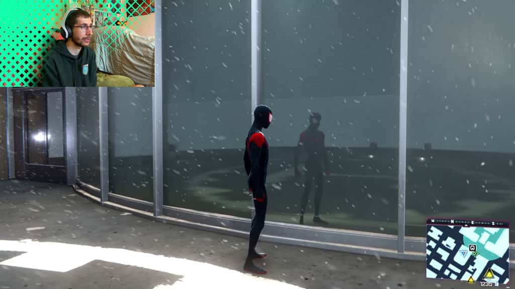 Miles Morales Spider-Verse Suit Low Frame Rate