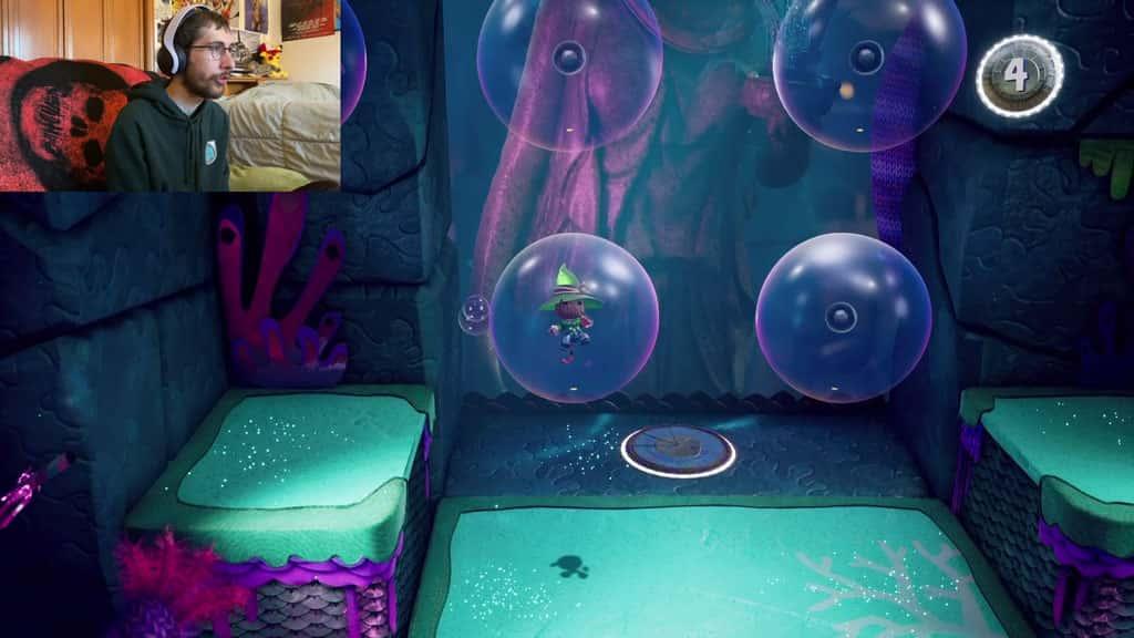 Sackboy in Giant Bubble