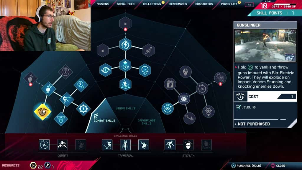 Spider-Man Miles Morales Upgrade Screen