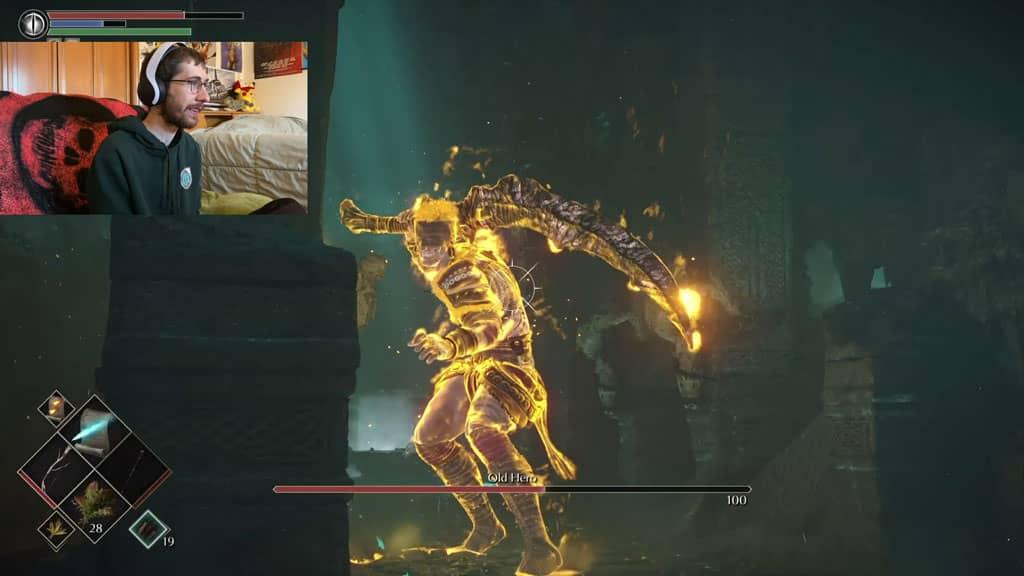 Demon Souls Remake Old Hero
