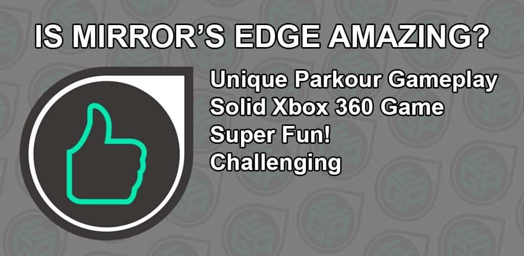 Is Mirror's Edge Amazing
