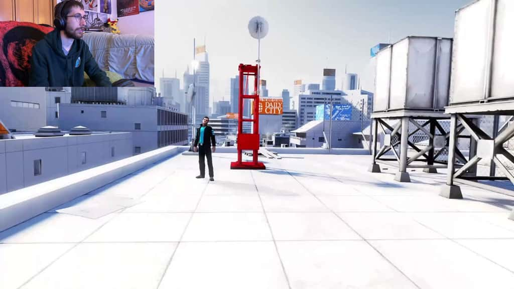 Mirror's Edge Chase Sequence