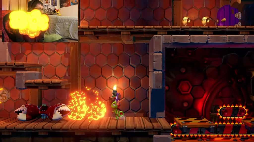 Yooka Laylee Bomb Explosion