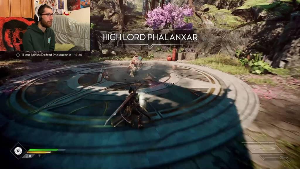 Fighting High Lord Phalanxar