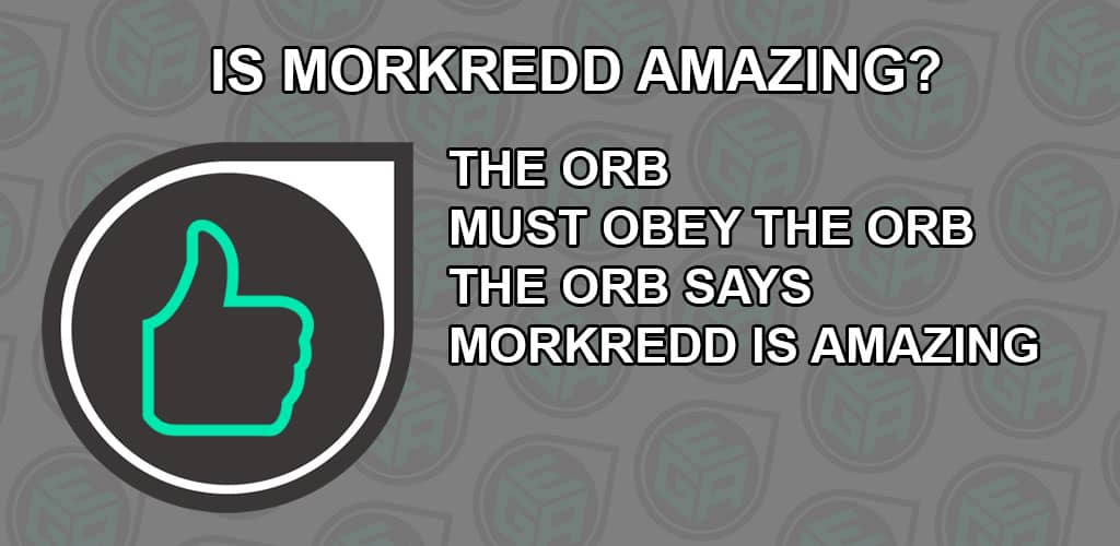 Is Morkredd Amazing? Ending Review Card