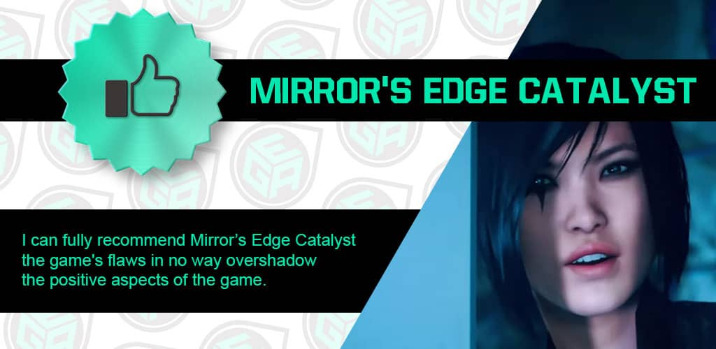 Is Mirror's Edge Catalyst Amazing Ending Review Card