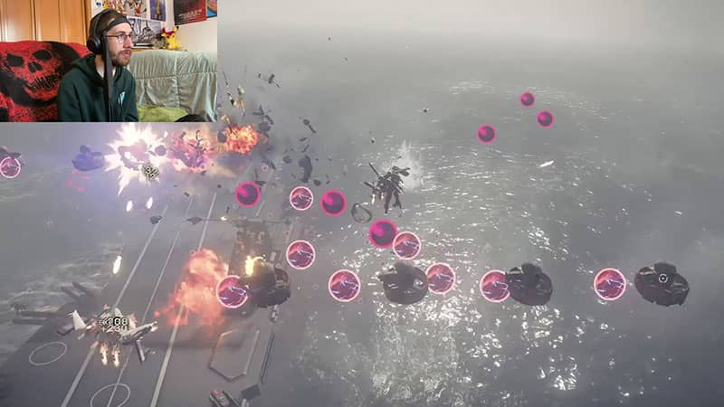 Bullet Hell Section in Flight Suits