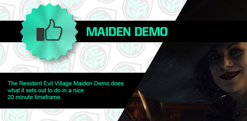 Is the Resident Evil 8 Village Maiden Demo Amazing Ending Review Card