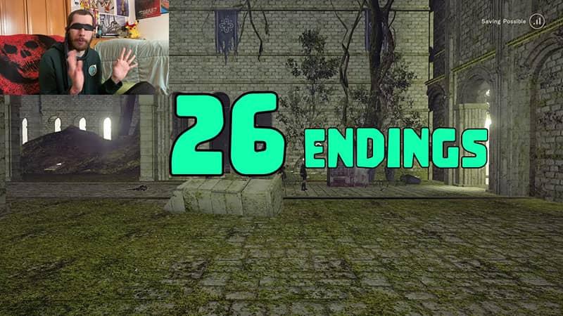 Nier Automata has 26 Endings