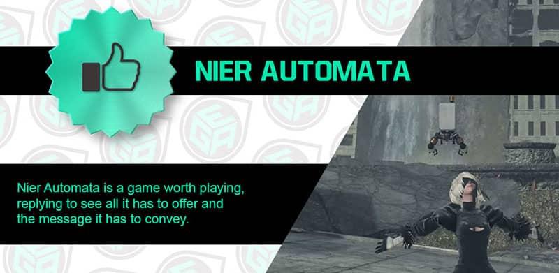 Nier Automata is Amazing