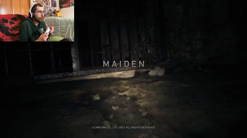 Resident Evil 8: Village Maiden Title Card