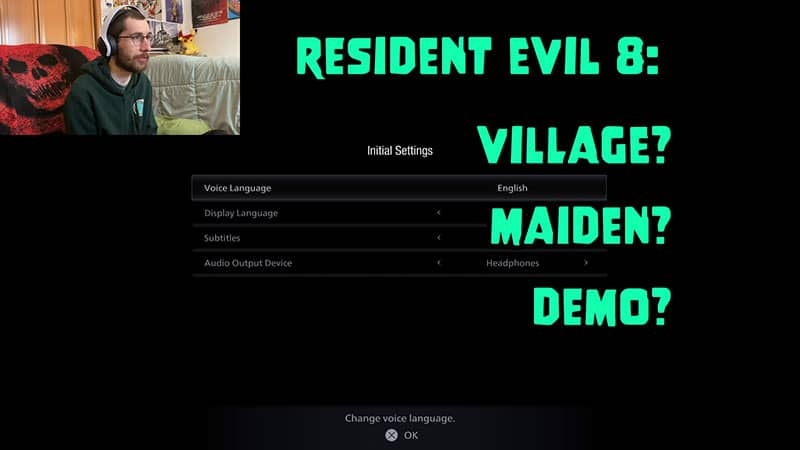 Resident Evil 8: Village? Maiden? Demo?