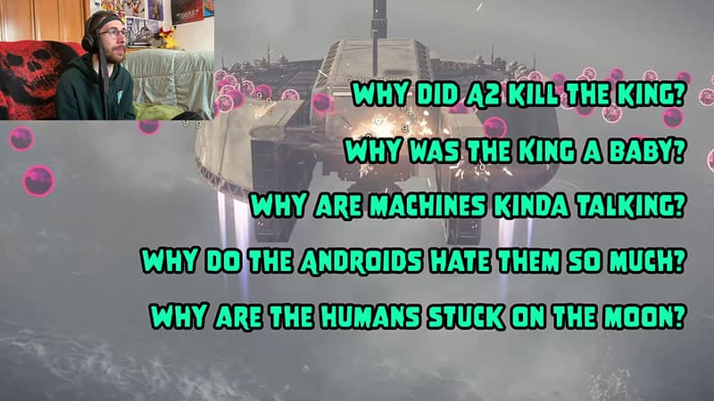The Many Questions of Nier Automata