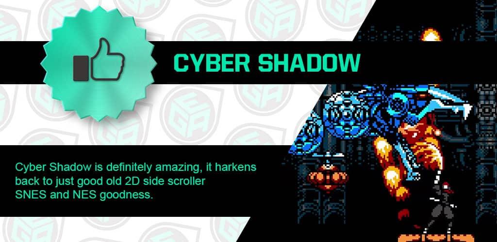 Cyber Shadow is Amazing