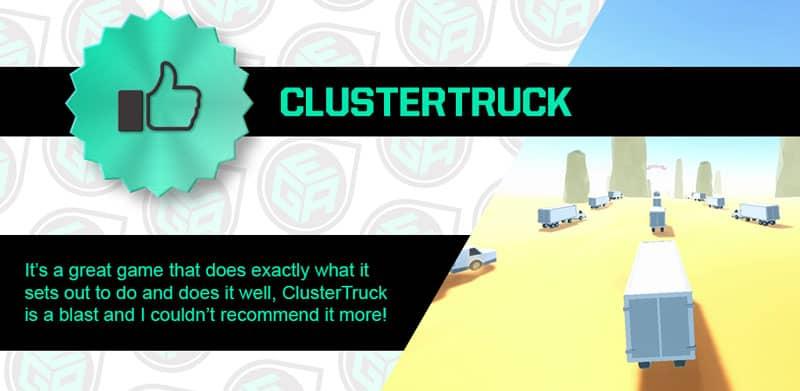 ClusterTruck is amazing!