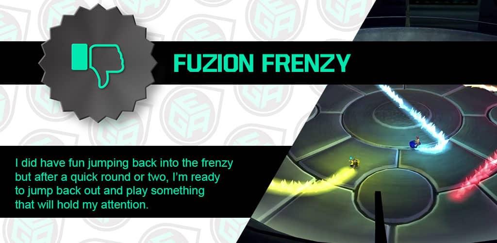 Fuzion Frenzy is not amazing!